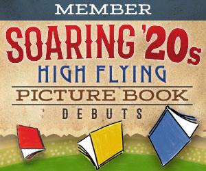 Soaring 20's Picture Book Group logo with flying books