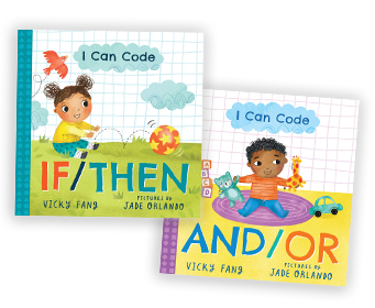 I Can Code book covers