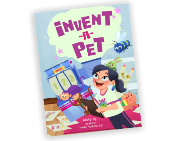 Invent-a-Pet book cover